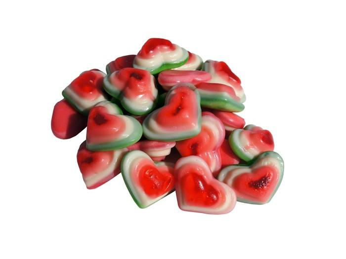Hearted Jelly Candy