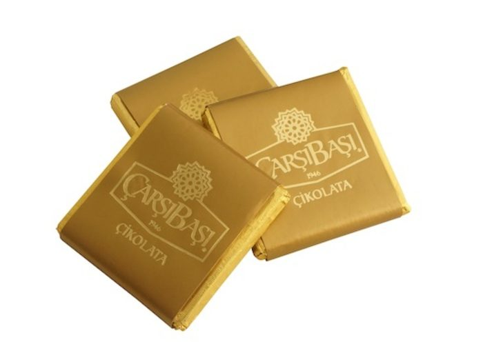 Gold Labelled Chocolate with Milk