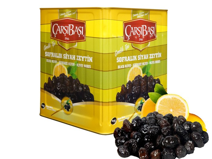 Çarşıbaşı Gemlik Type Black Table Olives