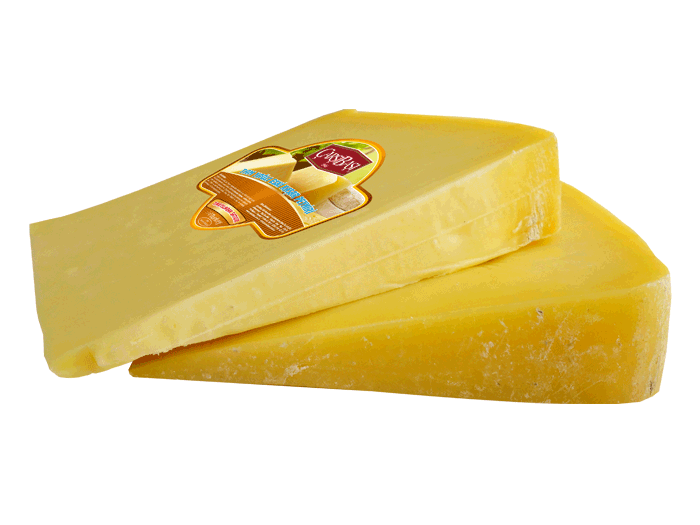 Matured Cheddar Cheese with Logo