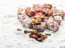 Double Delight with Antep Pistachio and Pomegranate
