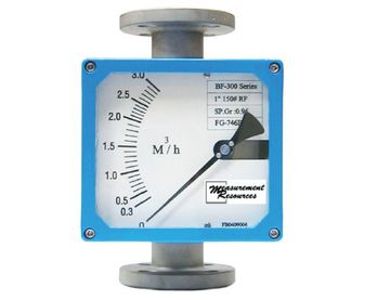 Metal-Tube Flow Meter